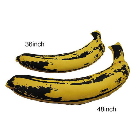 MEDICOM TOY, Andy Warhol - BANANA PLUSH