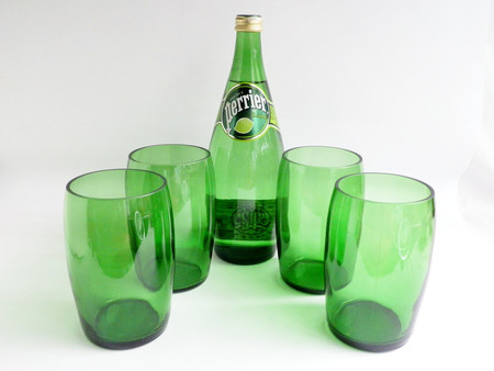 BoMoLuTra - Perrier Mineral Water Glasses