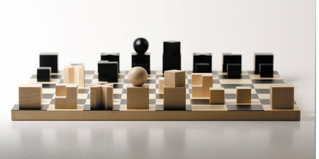 naef - Bauhaus chess pieces