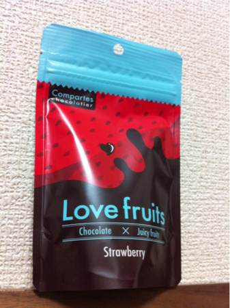 Compartes chocolatier - Love fruits Strawberry