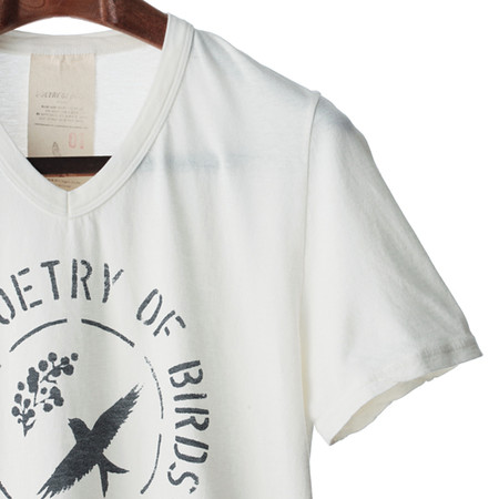 Poetry of Birds - ピグメント加工 プリントT-SHIRTS