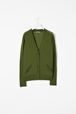 cos - slanted pocket cardigan