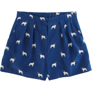 Sea Bulldog Print Short