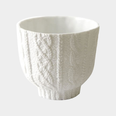 Cement Produce Design - Knit Wear Ceramic Cup