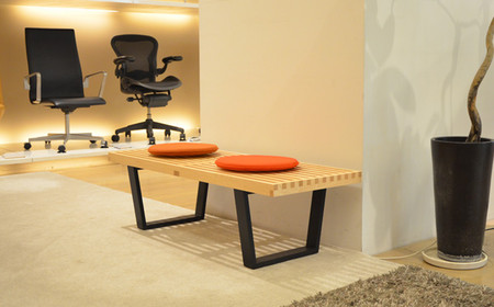 Herman Miller - Platform Bench Designed by George Nelson