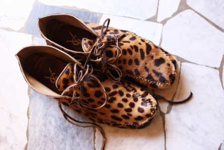 YSL - Leopard  shoes