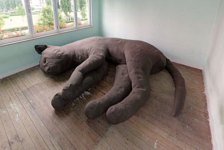UNFOLD  Design Studio - Giant Cat Sofa