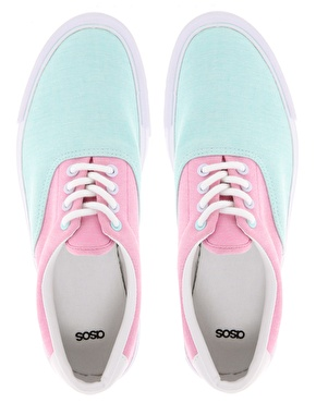 ASOS Collection. - ASOS DENVER Plimsolls