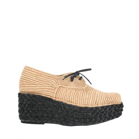 CARVEN - Braided wedge oxford SHOES