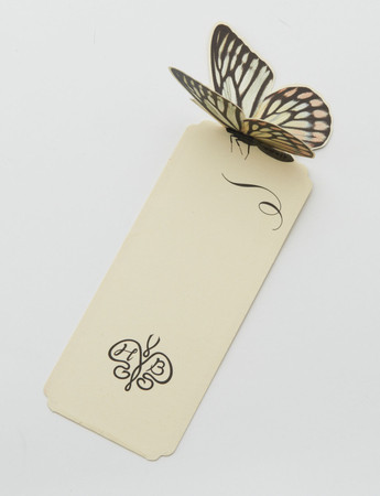 "D-BROS - ""HOTEL BUTTERFLY"" Bookmarker"