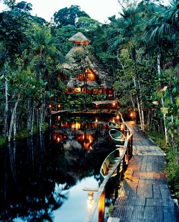 Amazon, Ecuador - 'Sacha Lodge'