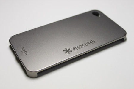 Snow Peak - Titanium Cover for iPhone 4