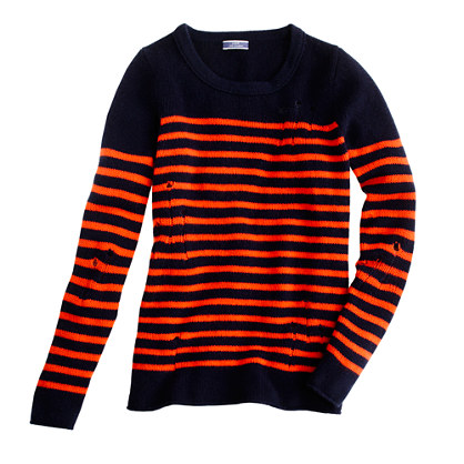 J.CREW - Altuzarra for J.Crew Serge sweater navy flame