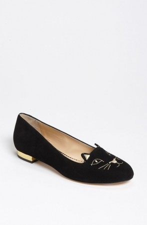 Charlotte Olympia   - 【新作】PRE-ORDER●Charlotte Olympia● 円高還元●Smoking Slipper Black/ Gold 1
