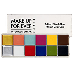 MAKE UP FOR EVER - 12 Flash Color Case