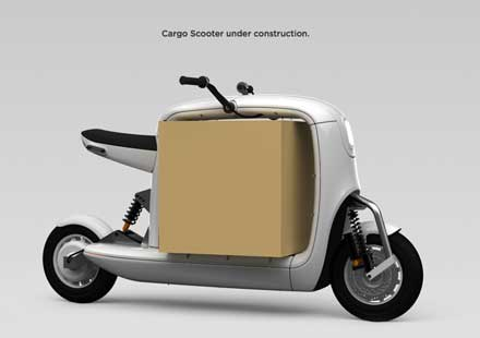 LIT - cargo scooter