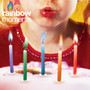 Rainbow Moments - Colored Flame Birthday Candles (12 Pack)
