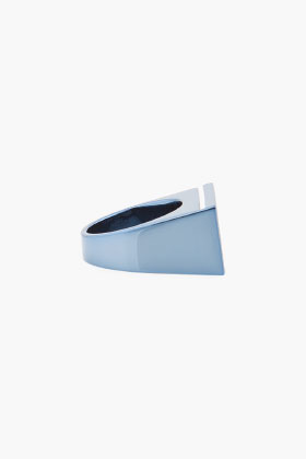 MAISON MARTIN MARGIELA  - Blue Rectangle Ring