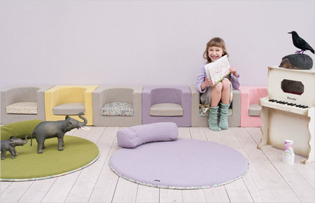 pieni koti - cube mini sofa