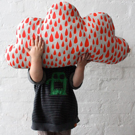 Harvest Textiles - Cloud shaped cushion