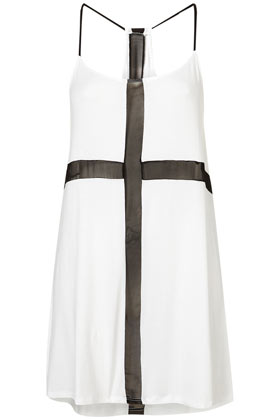 TOPSHOP - Cross Front Long Cami Tunic