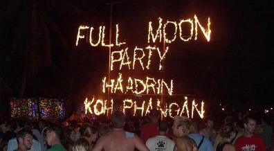 パンガン島 - full moon party