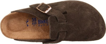 Birkenstock - Birkenstock Boston Soft Footbed Mocha Suede
