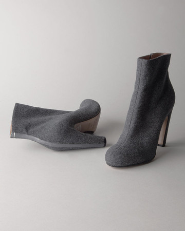 MAISON MARTIN MARGIELA - LINE 22 // WOOL ANKLE BOOT