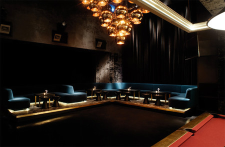 Tom Dixon - Tazmania Ballroom, Hong Kong, owned by Gilbert Yeung Kei-Lung