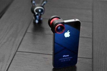 OLLOCLIP - Three-in-One Lens for iPhone 4 iPhone