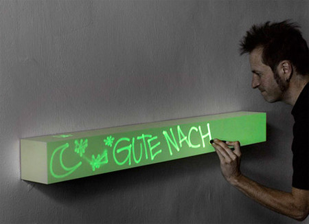 YANKO DESIGN - Scratch Notes On A Plank Day And Night