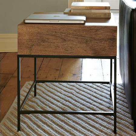 west elm - Rustic Storage Side Table