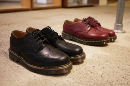 COMME des GARCONS / Dr. Martens - WINGTIP LEATHER SHOES