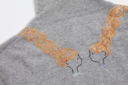 PASS THE BATON - the vintage cashmere knitwear