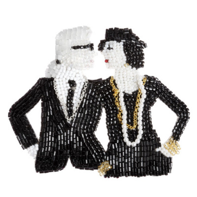 MARIANNE BATLLE - Coco Chanel&Karl Lagerfeld