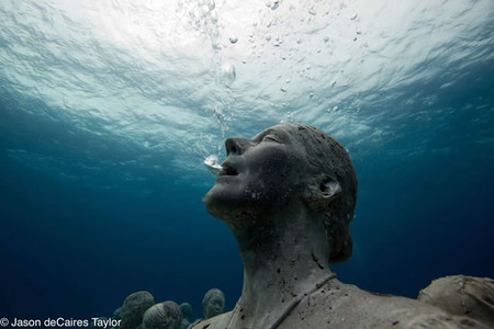 Cancun, Mexico - 'Underwater Museum'