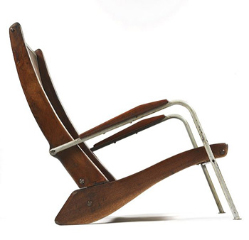 "Jean Prouve - ""Visitor"" Chair"