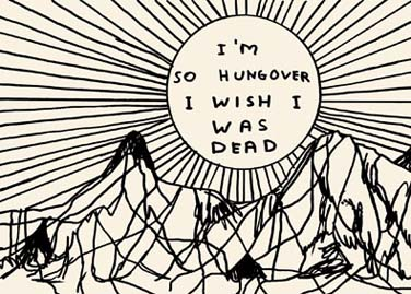 David Shrigley - HUNGOVER