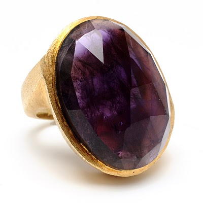 Wendy Mink - Smoky Quartz ring