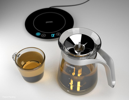 The Pyrex Glass Induction Tea Kettle