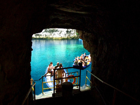 Kefalonia, Greece - 'Melissani Cave Lake'