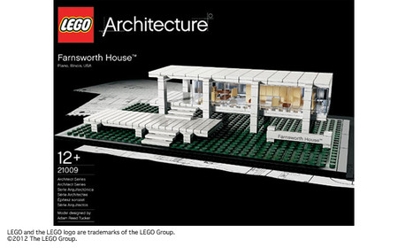 LEGO - Architecture Farnsworth House