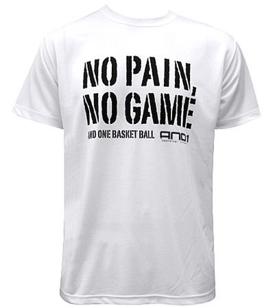 And1 - No Pain No Game Tee