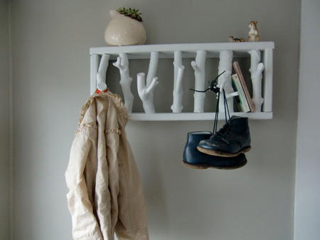 cantilever and press - wolf den coat rack