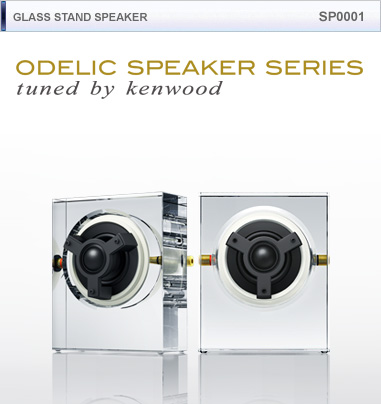 Kenwood , Odelic  - Glass Stand Speakers SP0001