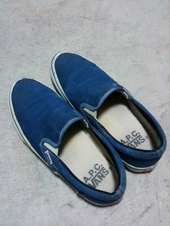VANS, A.P.C. - Slip on shoe
