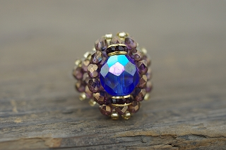 Bague A Part ! -  Crystal Beads Ring
