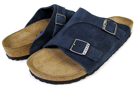 BIRKENSTOCK - ZURICH Soft Footbed Denim