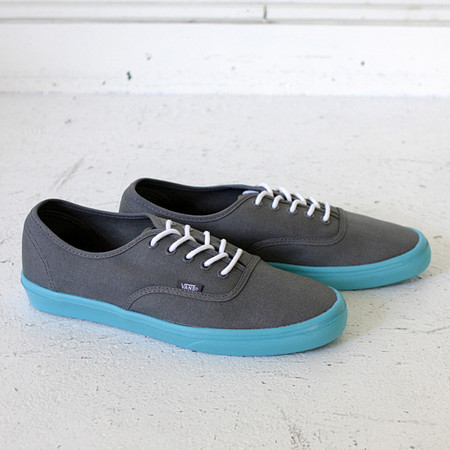 VANS - Authentic Lite Pewter/Scuba Blue