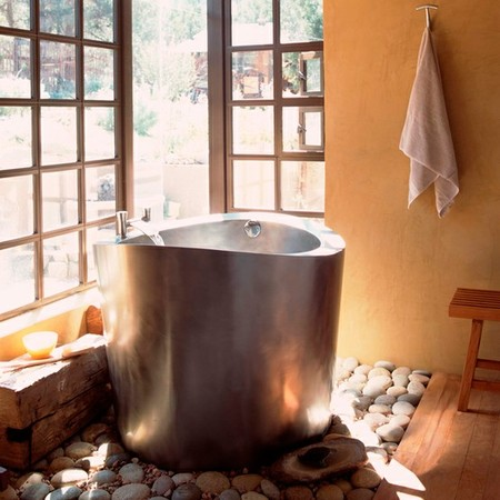 Stainless Steel Japanese Soaking Tub